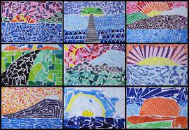 Simple Mosaic Art Designs Enchanting Examples Easy Mosaics For Kids 2019