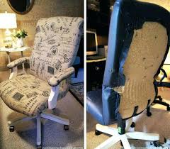 office chair reupholstery. Office Chair Reupholstery Cost Reupholster Leather .