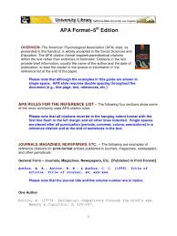 Apa Citation Guides Citation Apa Style