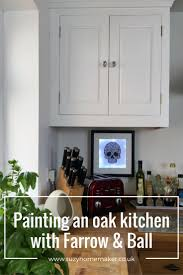Eggshell Kitchen Cabinets Painting Oak Kitchen Cabinets The Curious And Crafty World Of