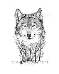 This wolf of white the world will see through all the good he brings to thee. Black And White Wolf Drawing Giclee Art Print Wolf Illustration Wolf Illustration Wolf Drawing Wall Art Canvas Prints