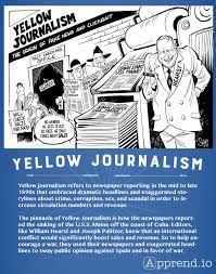 Yellow Journalism For Apush Simple Easy Direct