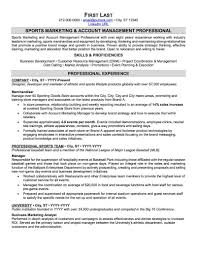 Sports Management Resume Examples Sports And Coaching Resume Sample