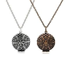 set of 2 aromatherapy essential oil diffuser necklace pendants and chains antique silver