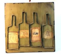 image is loading wine bottle mixed media wall art distressed metal  on french wine label wall art with wine bottle mixed media wall art distressed metal with real french