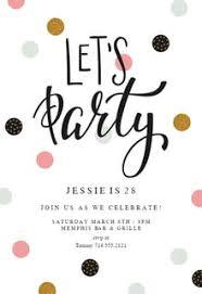 Birthday Luxury Birthday Invite Template Birthday Invitation Ideas