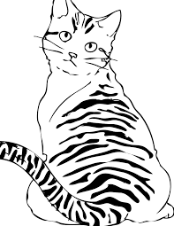 Small Picture Free Printable Cat Coloring Pages For Kids Animal Place