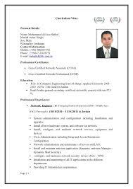 Ccnp Resume Format Resume Format Dekstop Pinterest