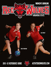 2011-12 A-State Women's Bowling Reference Guide by Dennen ...