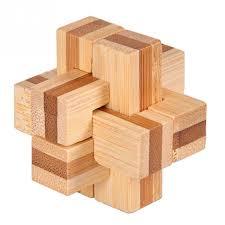 Wooden Games For Adults 100 New Excellent Design IQ Brain Teaser 100D Wooden Interlocking 16