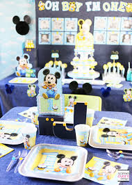 Mickey Mouse First Birthday Party Ideas ...