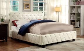 Marilyn Monroe Bedroom Furniture Furniture Of America Cm7056iv Q Juilliard Contemporary Ivory