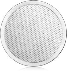Dl Foodservice Design New Star Foodservice 50936 Seamless Aluminum Pizza Screen Commercial Grade 8 Inch Pack Of 6