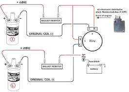 wiring diagram for electronic distributor floralfrocks how to connect ignition coil at Distributor Wiring Diagram