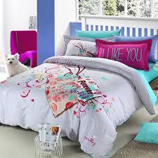 image of queen size bedding for teen
