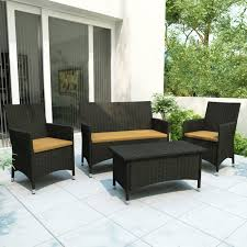 4 piece patio set view larger