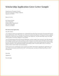 Sample Scholarship Request Letters Writing Application Letters For Scholarships Scholarship