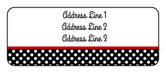 address label template free polka dot address label label templates ol875 onlinelabels com