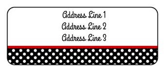 address label template free polka dot address label label templates ol875 onlinelabels com