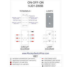 rocker switch on off on dpdt dep lights on off on rocker switch wiring diagram