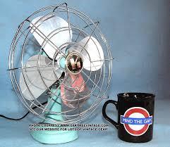 vintage deco fans by emerson wizard vornado zero deco breeze century r m western auto westinghouse phil rich ge general electric vintage fans dominion