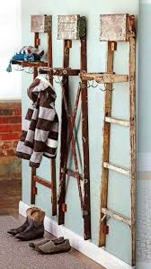 Repurposed Coat Rack Easy repurposed coat rack projects DIY Ideas 16