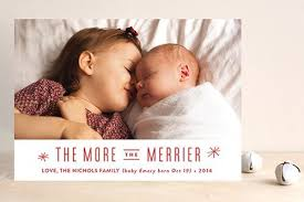 Sibling Birth Announcement 9 Birth Announcement Holiday Card Pregnant Chicken