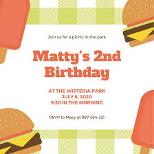 Picnic Invitations Templates Free Customize 108 Picnic Invitation Templates Online Canva