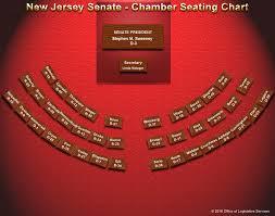 Senate Seating Chart New Jersey Senate Chamber Seating Chart