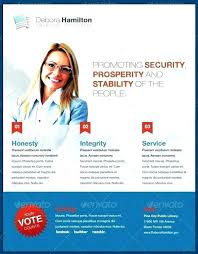 Free Election Campaign Flyer Template Election Campaign Template Free Political Campaign Flyer Templates