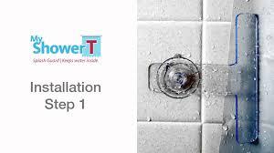 how to install shower bathtub splash guard my shower t splash guard