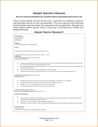 10 Resume Format For Teachers Skills Based Resume