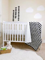 home design black and white crib bedding white crib