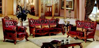 Chateau Formal Antique Style Traditional Living Room Furniture