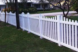 vinyl picket fence front yard. Vinyl Picket Fence Florida Front Yard A