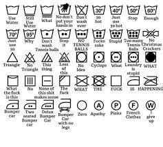 国際標準化機構isoの洗濯絵表示英語圏の人もワケワカランよと