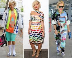 Rita Star Pattern Impressive From Prints And Patterns To Bold Colours Rita Ora Is Another Star