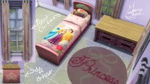 Sims Bedroom Mod The Sims Disney Princess Bedroom Set