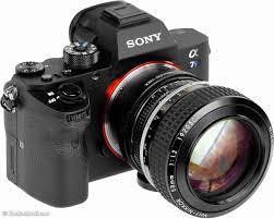 sony a7s ii. sony a7s ii and nikon noct-nikkor 58mm f/1.2 a7s ii i