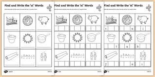 250 free phonics worksheets covering all 44 sounds, reading, spelling, sight words and sentences! 98 Top Oi Teaching Resources