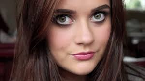 aria montgomery lucy hale from pretty little liars makeup tutorial emmasrectangle you
