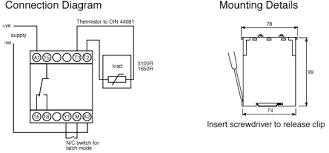 thermistor relay wiring diagram best wiring diagram image 2018 Two Wire Thermistor Wiring-Diagram at Thermistor Relay Wiring Diagram
