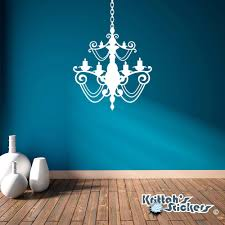 chandelier wall decal black chandelier vinyl wall decal candelabra candle home decor gothic art sticker ch08 chandelier wall decal with rhinestones