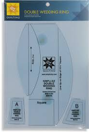 Creative Grids (UK) LTD Simpli-EZ Double Wedding Ring Ruler & Simpli-EZ Double Wedding Ring Ruler Adamdwight.com