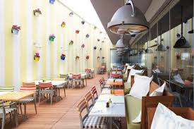 Philippe Starck  Modern and colorful restaurant project for hotel Mama  Shelter Istanbul Best Interior Design