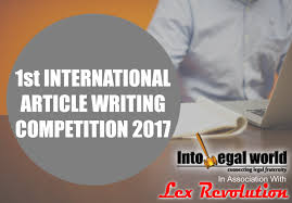 first into legal world national essay writing competition  essay competition