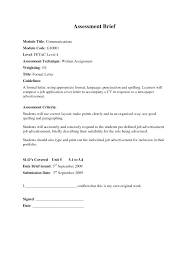Formal Letter Application Format Well Ideas Of Sample Job In Model ...