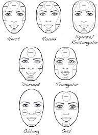 image result for how to contour heart shaped face makeup nails heart shape face contours and contouring makeup