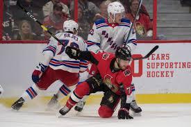 Game 13 Hub Ottawa Senators New York Rangers Silver Seven