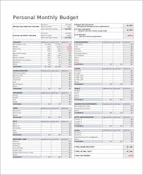 Budget Forms Pdf 32 Free Budget Forms